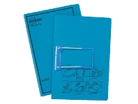 Officeworks Avery Foolscap Tubeclip File Blue