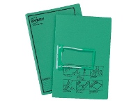 Officeworks Avery Foolscap Tubeclip File Green