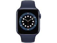 Officeworks Apple Watch Series 6 44mm GPS + Cellular Blue and Navy