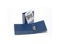 Officeworks Bantex A4 Insert Lever Arch File 70mm Blue