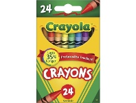 Officeworks Crayola Crayons 24 Pack