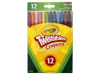 Officeworks Crayola Twistable Crayons 12 Pack