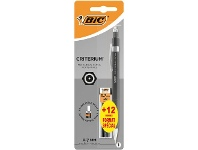 Officeworks BIC Criterium Mechanical Pencil With 0.7mm Leads Black