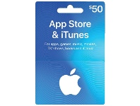 Officeworks Apple iTunes Gift Card $50