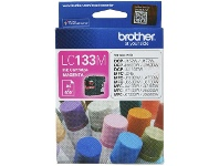 Brother LC 133 Ink Cartridge Magenta
