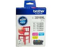 Officeworks Brother LC 3319XL Ink Cartridges 3 Colour Value Pack