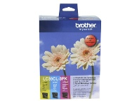 Officeworks Brother LC 39 Ink Cartridges 3 Colour Value Pack