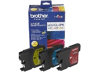Officeworks Brother LC 67 Ink Cartridges 3 Colour Value Pack