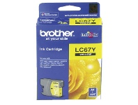 Officeworks Brother LC 67 Ink Cartridge Yellow