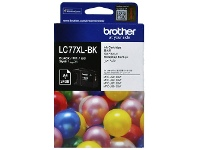 Officeworks Brother LC 77XL Ink Cartridge Black