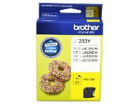Officeworks Brother LC 233 Ink Cartridge Yellow