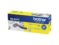 Officeworks Brother TN 257 Toner Cartridge Yellow
