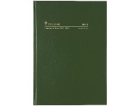 Officeworks Collins Debden Collins A4 Day to Page FY21/22 Diary Green