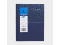 Officeworks Collins Debden Collins A5 Day to Page FY21/22 Vanessa Diary Blue