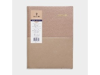 Officeworks Collins Debden Collins A4 Week to View FY21/22 Vanessa Diary Rose Gold