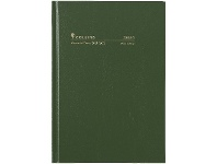 Officeworks Collins Debden Collins A5 Week to View FY21/22 Diary Green