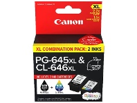 Officeworks Canon 645/646 XL Ink Cartridge Value Pack
