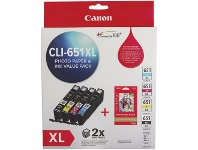 Officeworks Canon CLI 651XL Photo Value Pack