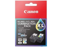 Officeworks Canon 660XL and 661XL Ink Cartridges