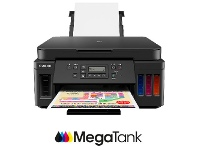 Officeworks Canon PIXMA MegaTank Inkjet MFC Printer G6060