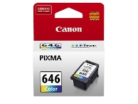 Officeworks Canon CL 646 Ink Cartridge Tri Colour