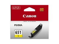 Officeworks Canon CLI 651 Ink Cartridge Yellow
