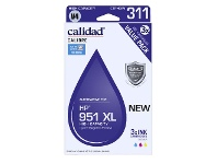 Officeworks Calidad Compatible HP 951 XL Ink Cartridge Colour 3 Pack