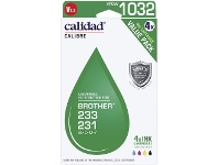 Officeworks Calidad Compatible Brother 233 Ink 4 Pack