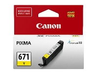 Officeworks Canon CLI 671 Ink Cartridge Yellow