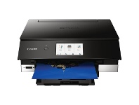 Officeworks Canon Pixma Home Inkjet Printer Black TS8360