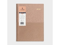 Officeworks Collins Debden Collins A4 Week to View 2022 Vanessa Diary Rose Gold