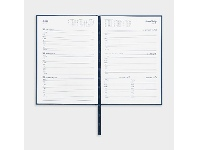 Officeworks Collins Debden Collins A5 Week to View 2022 Kingsgrove Diary Blue