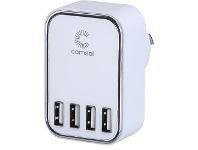 Officeworks Comsol 4 Port USB Wall Charger 4.5A