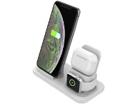 Officeworks Comsol 3-in-1 Wireless Charging Dock for iPhone/AirPods/Watch