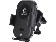 Officeworks Comsol 10W Auto Sensing Wireless Car Charger Black