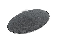 Officeworks Comsol 10W Wireless Fast Charging Fabric Pad Grey