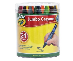 Crayola My First Crayons 24 Pack