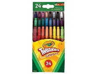 Officeworks Crayola Mini Twistable Crayons 24 Pack