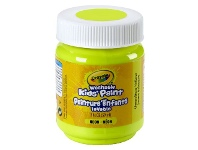 Officeworks Crayola Washable Classic Kids' Paint 59mL Unmellow Yellow