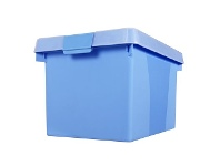 Officeworks Creation Plastics Creation Plastic Easy File n' Store 32L Blue