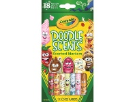 Officeworks Crayola Doodle Scents Washable Markers 18 Pack