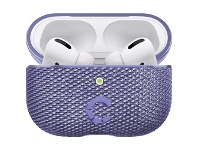 Officeworks Cygnett TekView AirPods Pro Case Lilac and Purple