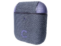 Officeworks Cygnett TekView Case for Airpods 1 and 2 Lilac and Purple