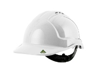 Officeworks Tuffguard Tuffgard Vented Safety Hard Hat White