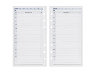 Officeworks Collins Dayplanner Personal Undated Daily Calendar Refill