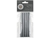 Officeworks D.I.Y. DIYi Wax Seal Refills Silver 5 Pack