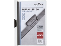 Officeworks Durable A4 Duraclip 60 Clamp File White