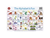 Officeworks Learning Can Be Fun Alphabet is Fun Double-sided Playmat