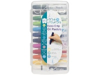Officeworks First Creations Easi-Grip Oil Pastels 12 Pack