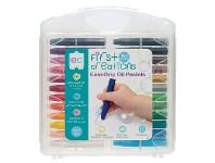 Officeworks First Creations Easi-Grip Oil Pastels 24 Pack
